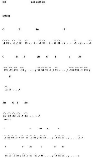 Juli   2012   Not angka lagu Terbaru