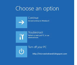 How to using Automatic Repair on Windows 8