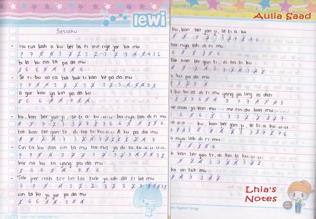 Not Angka Lagu ST12 - Setia Band Stiaku