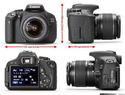 Harga Kamera Canon EOS 600D Dan Spesifikasi