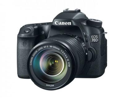 Canon EOS 70D Spesifikasi dan harga 2014